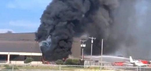 一架小型飞机在达拉斯附近坠毁 机上10人全部遇难_图1-4