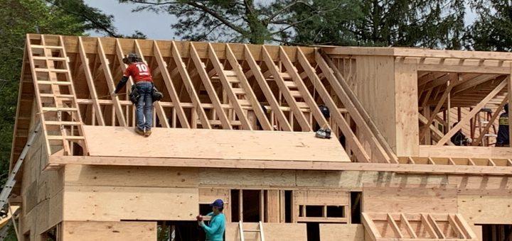 一月住房开工率下降建筑许可量却超速  新房  买房  新建房  大纪元