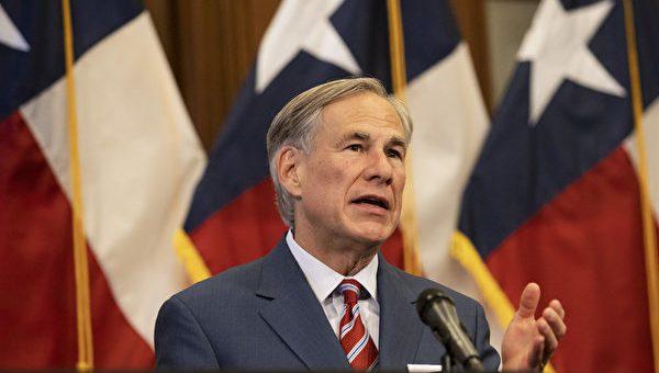 德州州长:解封后 COVID指标持续改善