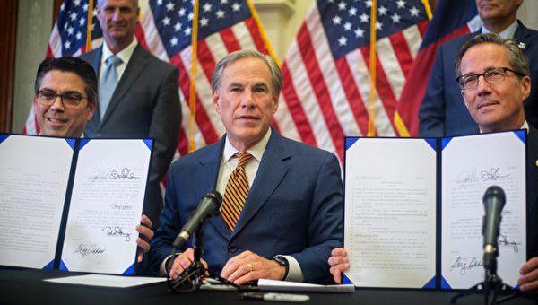 德州州长签署两项法案 改革ERCOT电力委员会